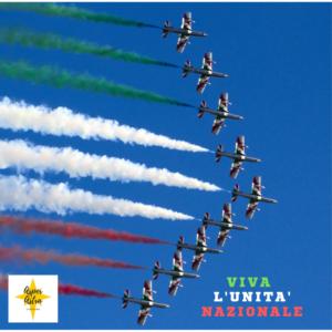 Italia, la nostra Patria, la nostra casa, unita sotto la stessa bandiera