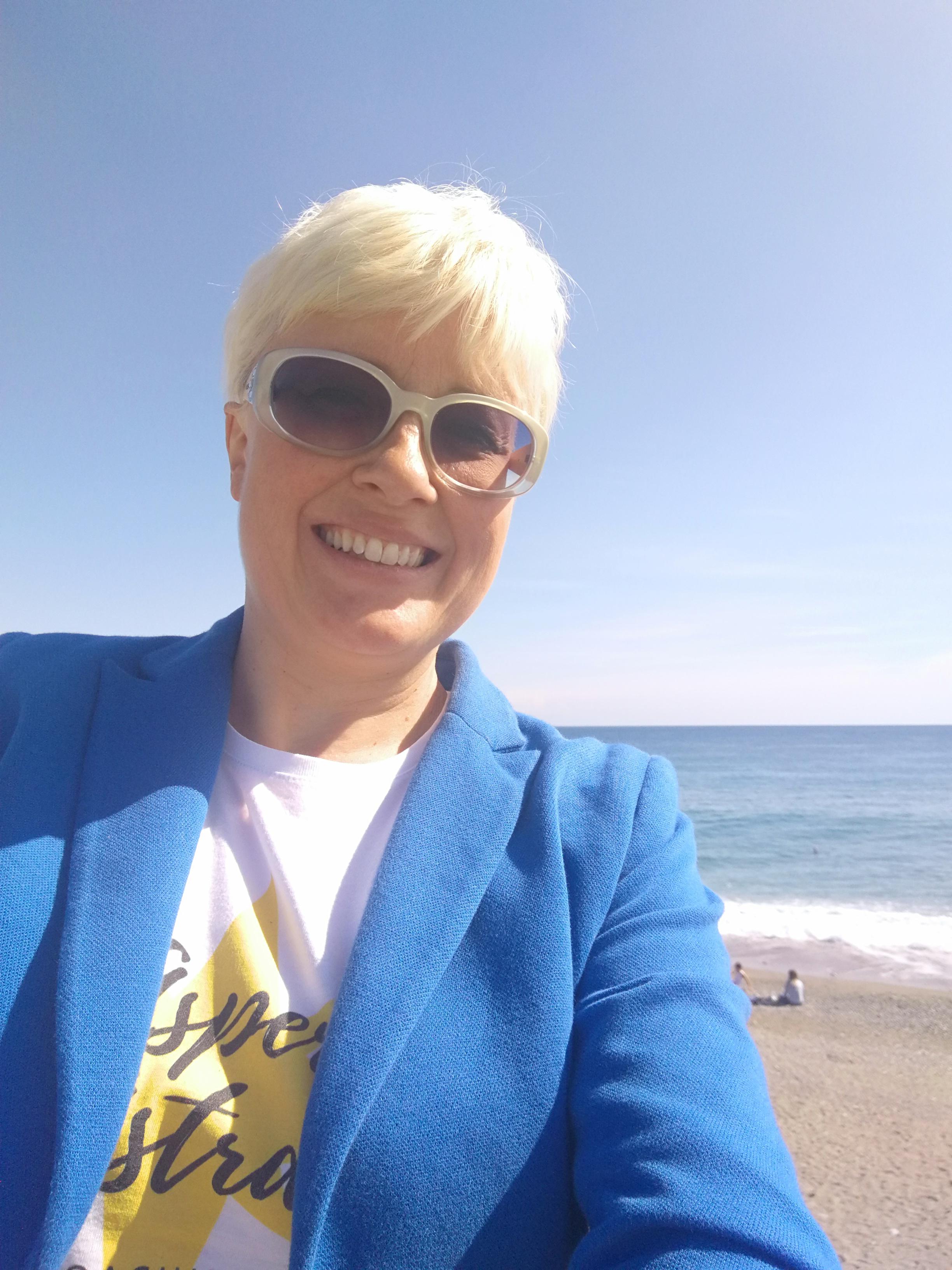 Una giornata splendida e il mare